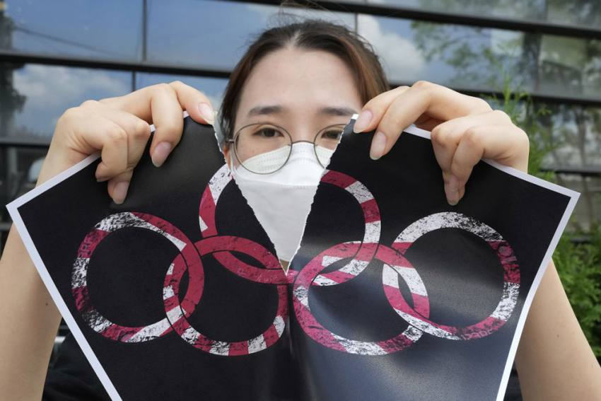 Olympics, Pandemic And Politics: There's No Separating Them