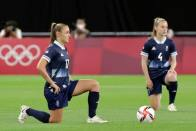 Tokyo 2020: Football Players Kneel To Start New Era Of Olympic Activism