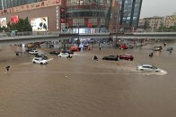 Video: Unprecedented Floods In Central China, Passengers Trapped In Subway Trains With Neck-Deep Water