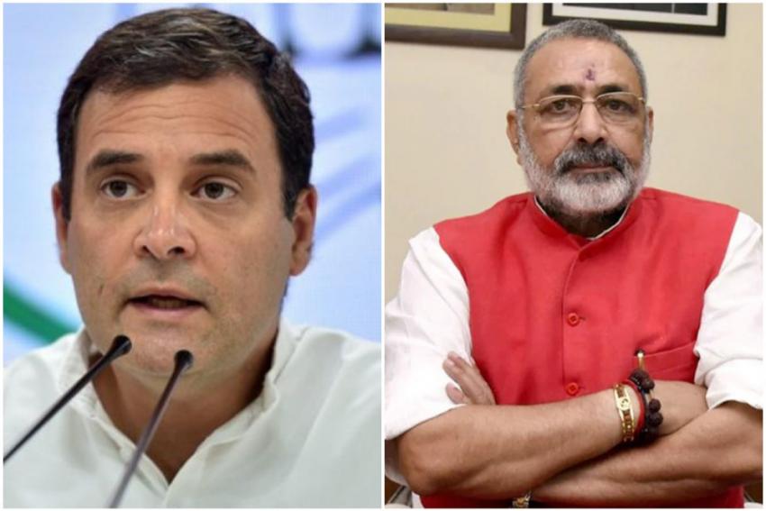 Oxygen Deaths: Rahul Gandhi's Tweet Criticising Govt Gets An Italian Response From Giriraj Singh