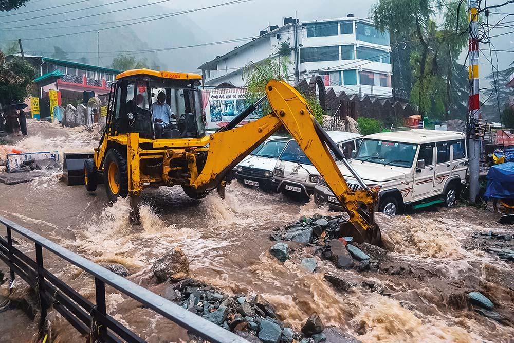Smart City Dreams Come Undone As Monsoon Ravages Dharamshala