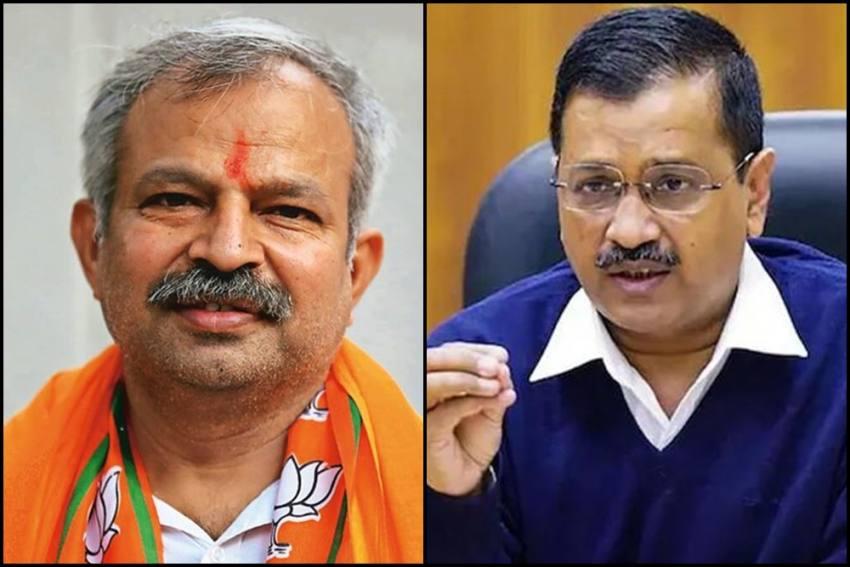 Delhi BJP Chief's House Ransacked, BJP Alleges Goons Sent By Arvind Kejriwal