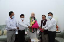 Amit Shah To Visit Tripura In August, Didn't Object To IPFT's 'Tipraland' Demand: Mevar Kumar Jamatia
