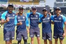 SL vs IND: Nitish Rana, Rahul Chahar, Chetan Sakariya, Kishnappa Gowtham, Sanju Samson Get Debut Caps- Watch Video Here