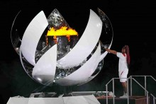 Tokyo Olympic Flame Is The First Powered By Hydrogen