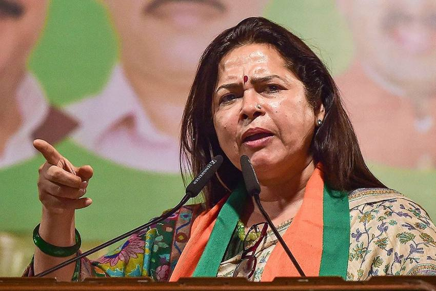 Meenakshi Lekhi Apologises After Backlash For Calling Protesting Farmers 'Mawali'