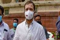 My Phone Is Tapped, Amit Shah Must Step Down: Rahul Gandhi On Pegasus Row