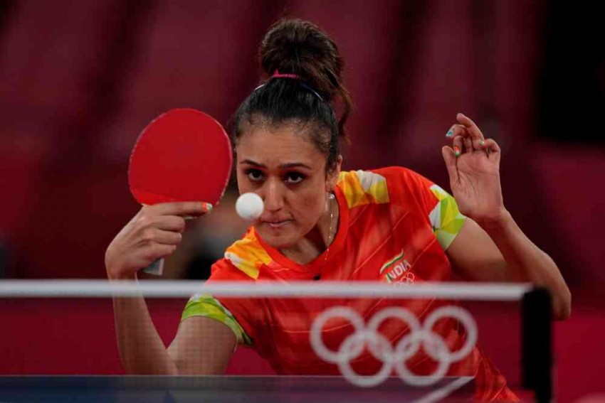 Manika Batra Snubs National Coach During First Round Table Tennis Match At Tokyo 2020