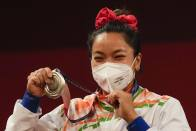 Tokyo Olympics: Saikhom Mirabai Chanu's Performance Motivates Every Indian, Hails PM Narendra Modi