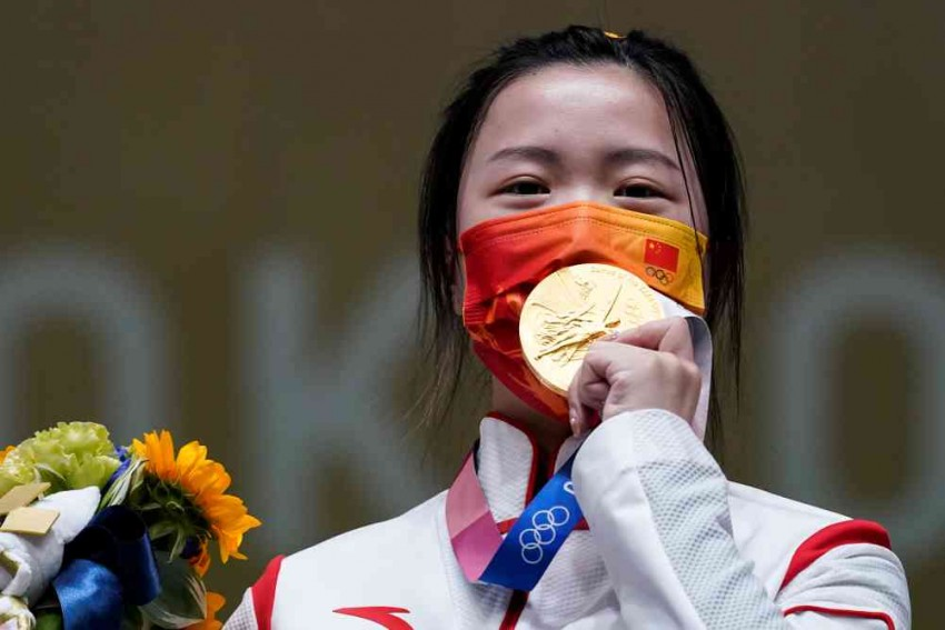 China's Yang Qian Takes First Gold At Uneasy Tokyo Olympics