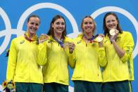 Tokyo Olympics: Australia Women Continue 4x100 Freestyle Dominance With World Record Timings