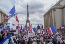 France's Macron Calls For Unity After Anti-Vaccine Protests