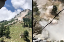 Watch: Terrifying Rockslide Caught On Tape In Himachal Pradesh Leaves 9 Dead, Check List Here