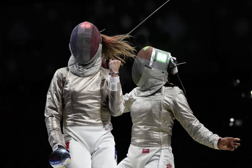 Indian Fencer Bhavani Devi Goes Down Fighting On Olympic Games Debut