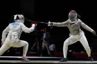 Indian Fencer Bhavani Devi Demolishes Nadia Azizi Of Tunisia At Tokyo Olympics
