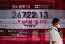 World Stocks Mostly Lower After Wall Street Highs