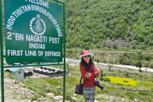Woman Killed In Himachal Pradesh Rockslide Posted Travel Photo Minutes Before Accident