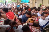 Ujjain Temple Stampede: No Social Distancing, Devotees Injured After VIP Visit