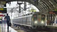 Delhi Rain: Waterlogging Blocks Entry And Exit Gates Of Saket Metro Station