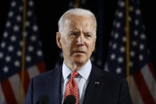 In First Visit To Intel Agency, Biden Warns Of Cyber Conflict