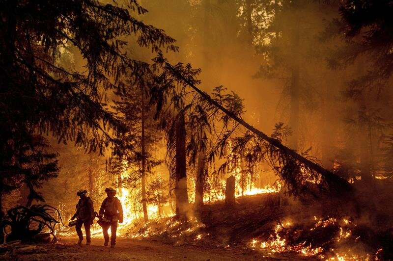 Western Wildfires Calm Down In Cool Weather, But Losses Continue To Grow
