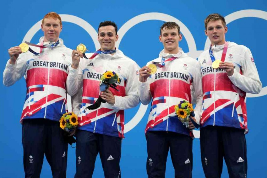 Tokyo Olympics: British Swimmers Make Relay History, USA Doesn't Even Win Medal