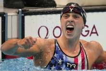 Swimming Great Katie Ledecky Finally Wins Gold At Tokyo Olympics