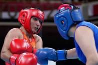 Tokyo Olympics: Debutant Boxer Pooja Rani Enters Quarterfinals
