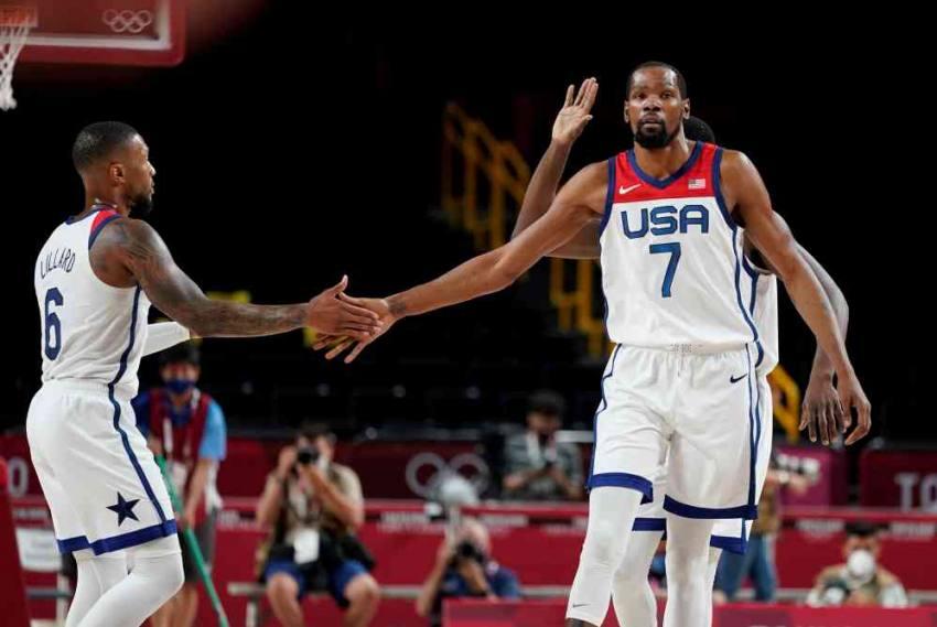 Tokyo Olympics: USA Basketball Team Bounces Back, Routs Iran 120-66