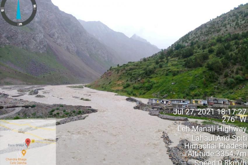 Himachal Pradesh: 9 Dead, 7 Missing In Lahaul-Spiti As Cloudburst Triggers Flash Floods