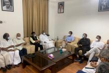 Rahul Gandhi Heads Opposition Meeting Of 14 Parties On Pegasus Strategy