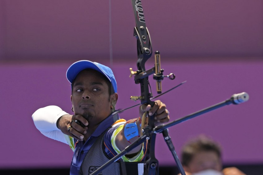 Atanu Das Stuns Two-time Olympic Champion To Join Wife Deepika Kumari In Tokyo 2020 Archery Round Of 16