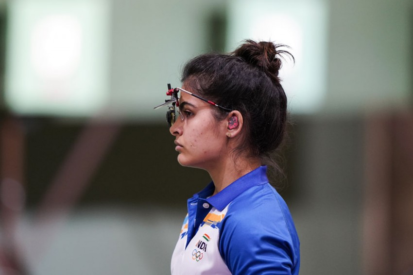 Manu Bhaker, Rahi Sarnobat Placed 5th, 25th Respectively In 25m Pistol Qualifications At Tokyo Olympics