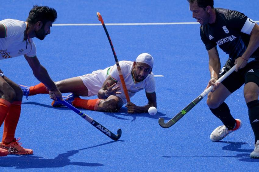 Tokyo Olympics: India Beat Argentina 3-1 To Seal QF Berth In Men's Hockey