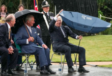 Watch Viral Video: Boris Johnson Struggles With His Umbrella, Leaves Prince Charles And Netizens Amused
