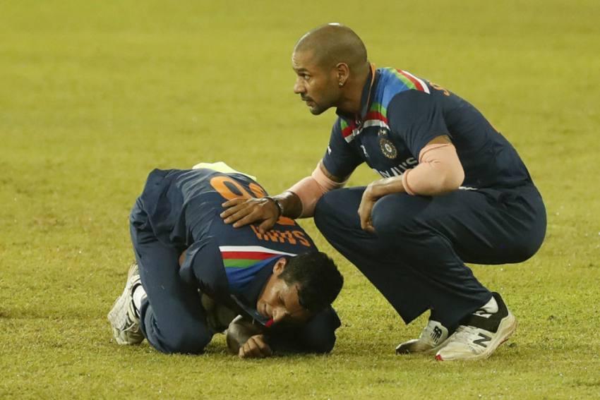 SL Vs IND, 2nd T20I: Medical Team Is Handling Navdeep Saini's Case, Says Paras Mhambrey