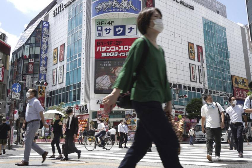 Japan Alarmed After Record Spike In Tokyo's Covid Cases