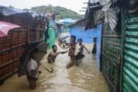 Thousands Of Rohingya Homeless As Monsoon Wreaks Havoc In Bangladesh