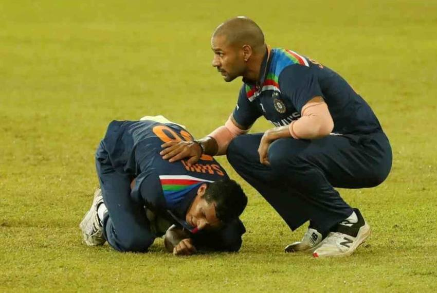 SL vs IND: Navdeep Saini To Undergo Scans For His Left Shoulder Injury, Says BCCI