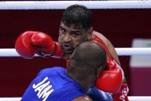 Satish Kumar Enters Tokyo Olympics Heavyweight Boxing Quarterfinals