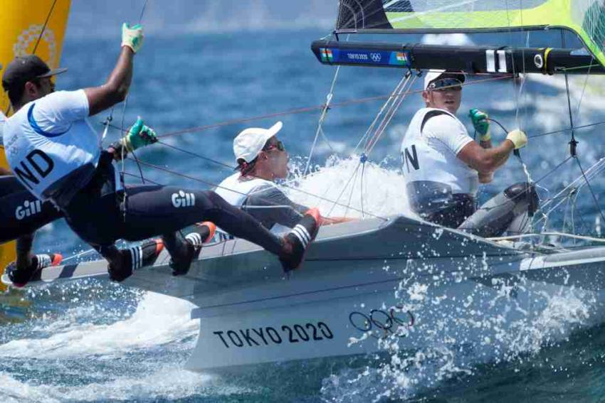 Indian Sailors Continue To Languish At Bottom In Tokyo Olympics