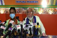 Twice Failed TMC Returned To Tripura Only To Save National Party Tag: Ratan Chakraborty