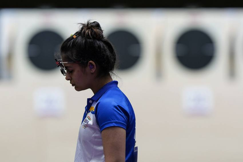 Manu Bhaker, Rahi Sarnobat Fail To Qualify For Women's 25m Pistol Shooting At Tokyo Olympics
