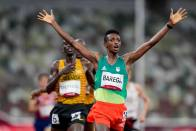 Tokyo Olympics: Ethiopia's Selemon Barega Wins First Track Gold Of The Games