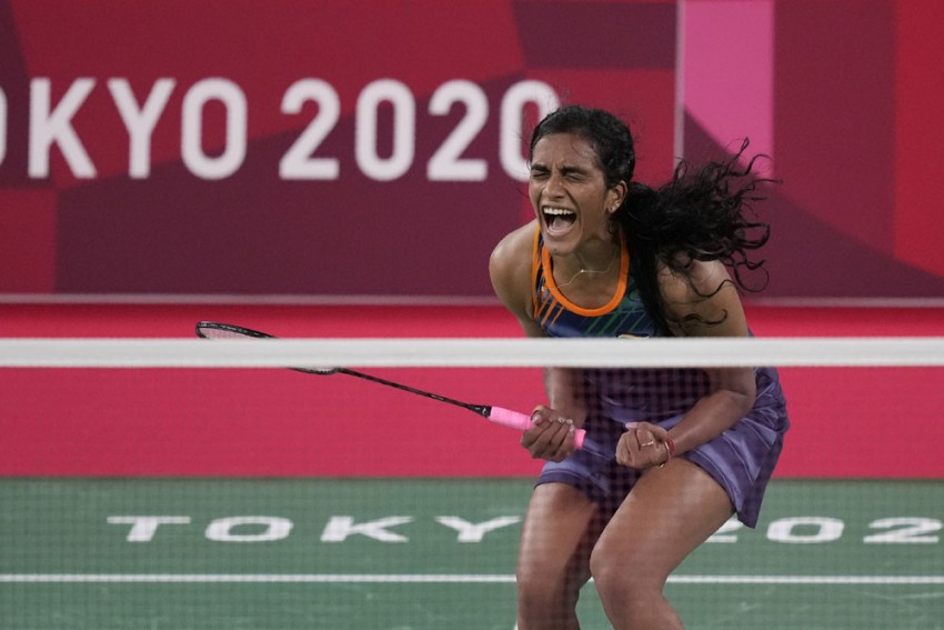 PV Sindhu Enters Badminton Semifinals At Tokyo Olympics