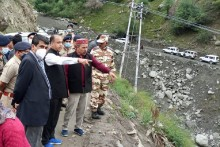 Himachal Cloudburst: CM Braves Inclement Weather To Reach Lahaul-Spiti, 178 Rescued, 66 Still Stranded