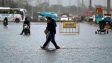 Heavy Rain Floods Eastern Rajasthan Roads, Washes Out Rail Tracks In Nagaur District
