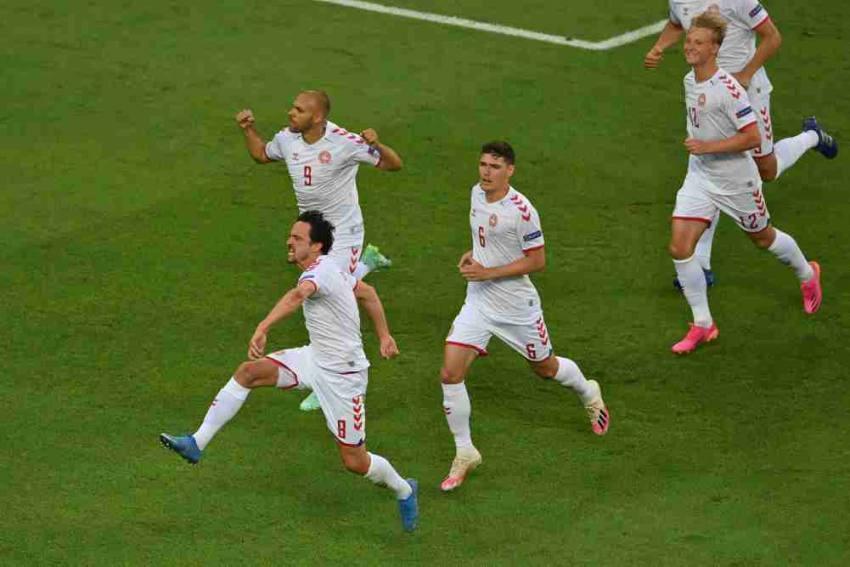 Euro 2020: Denmark Beats Czech 2-1, Set Up Semifinals Clash With England