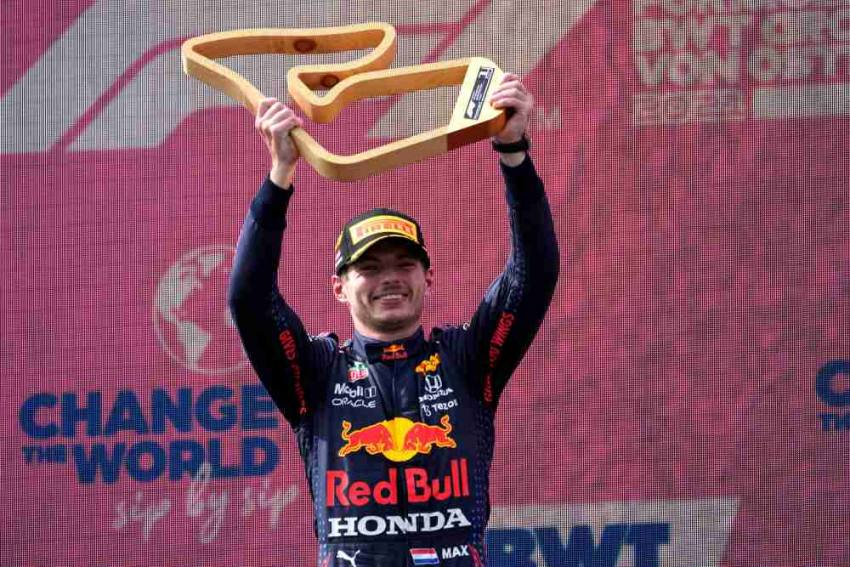 Austrian GP: Max Verstappen Clinches Third Straight Win, Extends Overall Lead