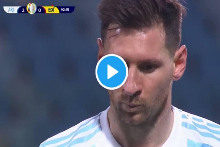 Lionel Messi Goal In Copa America Quarters Brings Argentina Star Closer To Pele's Record- Watch Video Here